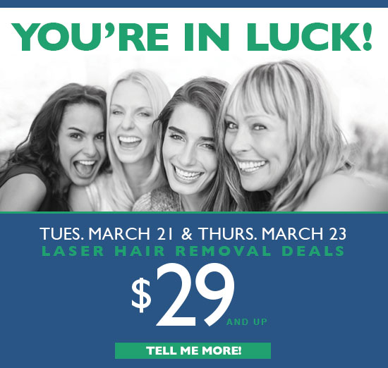 You're in luck promotiion_pop-up
